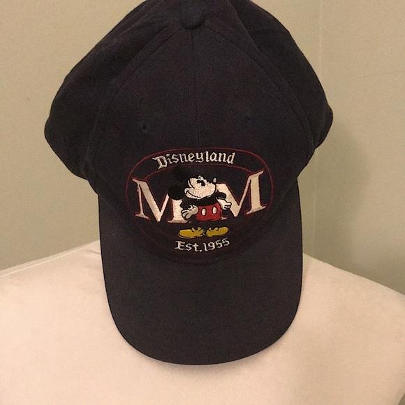 Mickey Mouse Navy Baseball Hat VTG Goofy Hat Co